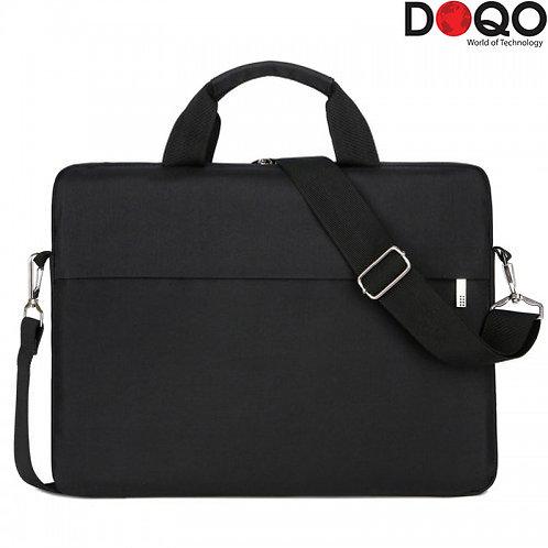 "DOQO - Laptop Bag - B022 Black - 14.1"""
