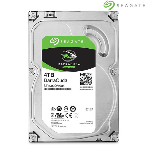"Seagate - Barracuda - 4TB - 3.5"" SATA HDD"