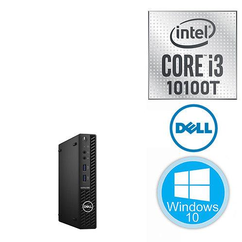 DELL Micro PC - OptiPlex 3080 - i3-10100T \8GB+\256GB+\ Windows10\3Yr + KBM