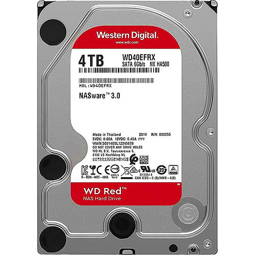 "Western Digital - WD Red - 4TB - WD40EFRX 5400RPM 3.5"" SATA HDD"