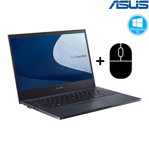 "ASUS - ExpertBook - 14""HD-IPS/i5-10210u /8GB/256GB/ Win10/1Yr + Mouse"