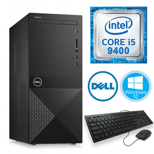 Dell - Desktop PC Vostro 3671 - i5-9400\8GB\256GB\Win10\3yr + Keyboard and Mouse