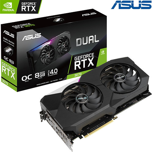ASUS - Nvidia GeForce - RTX 3070 - OC Edition - 8GB
