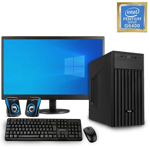"Desktop PC - Basic Pentium Set - G6400\NoOS + Monitor 24""\KBM\SP"