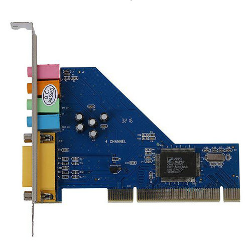 Audio Internal Card - Gold Touch - PCI Sound Card