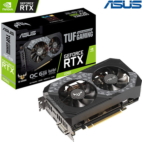 ASUS - TUF GAMING - Nvidia GeForce - RTX 2060 -  6GB
