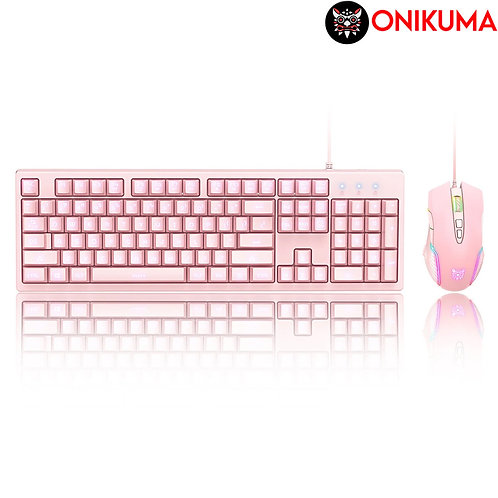 Onikuma - G25 + CW905 - Wired Keyboard and Mouse Set (HEB)