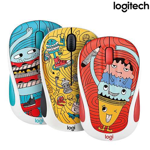 Logitech - M238 - Doodle Collection