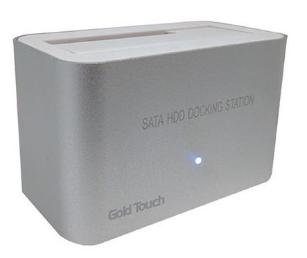 "HDD Docking Station - Gold Touch - USB 3.0 2.5"" or 3.5"""