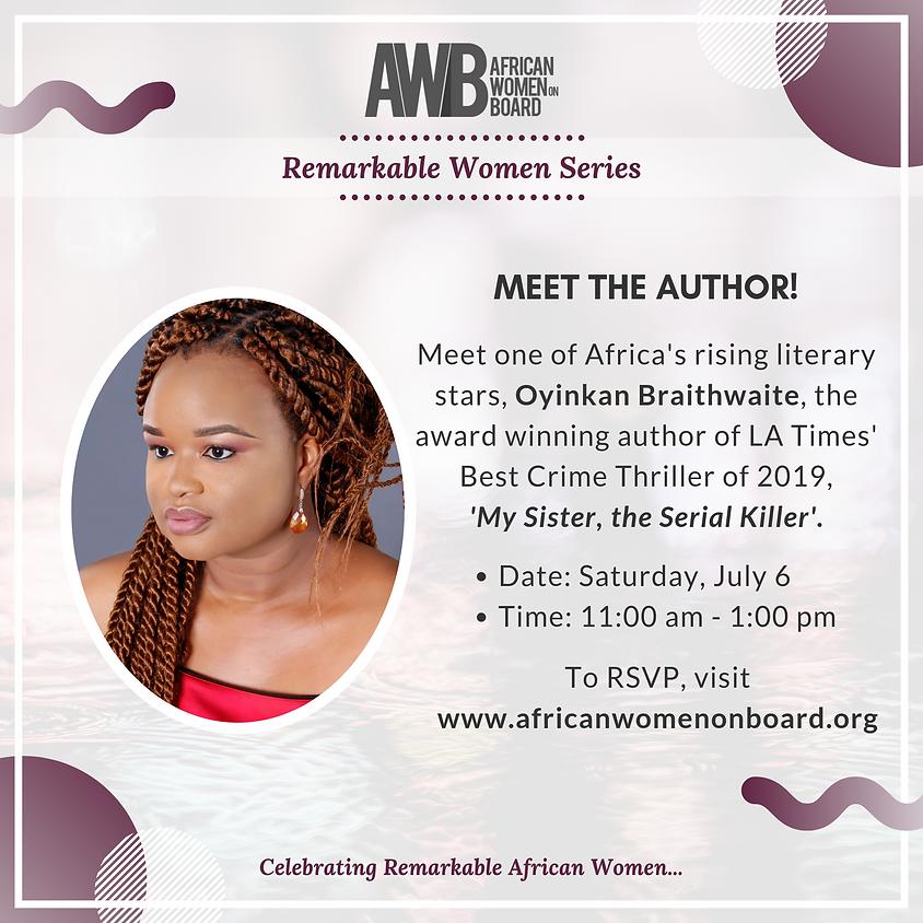Meet the Author!