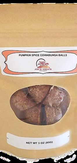 PUMPKIN SPICE COWABUNGA BALLS 3oz bag