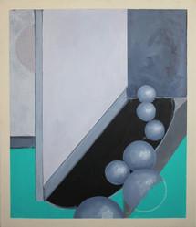 Huile sur toile 80 cm x 50 cm  2009