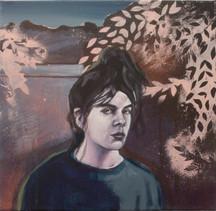 Acrylique sur toile  195 cm x 97 cm 2016