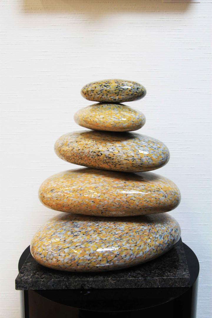 Rob Stern Rocks, Blown Glass