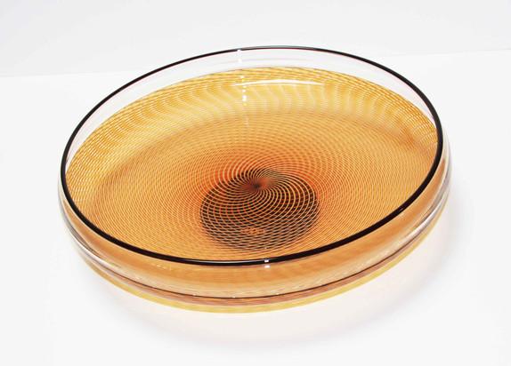 Pieper Gold Reticello Bowl