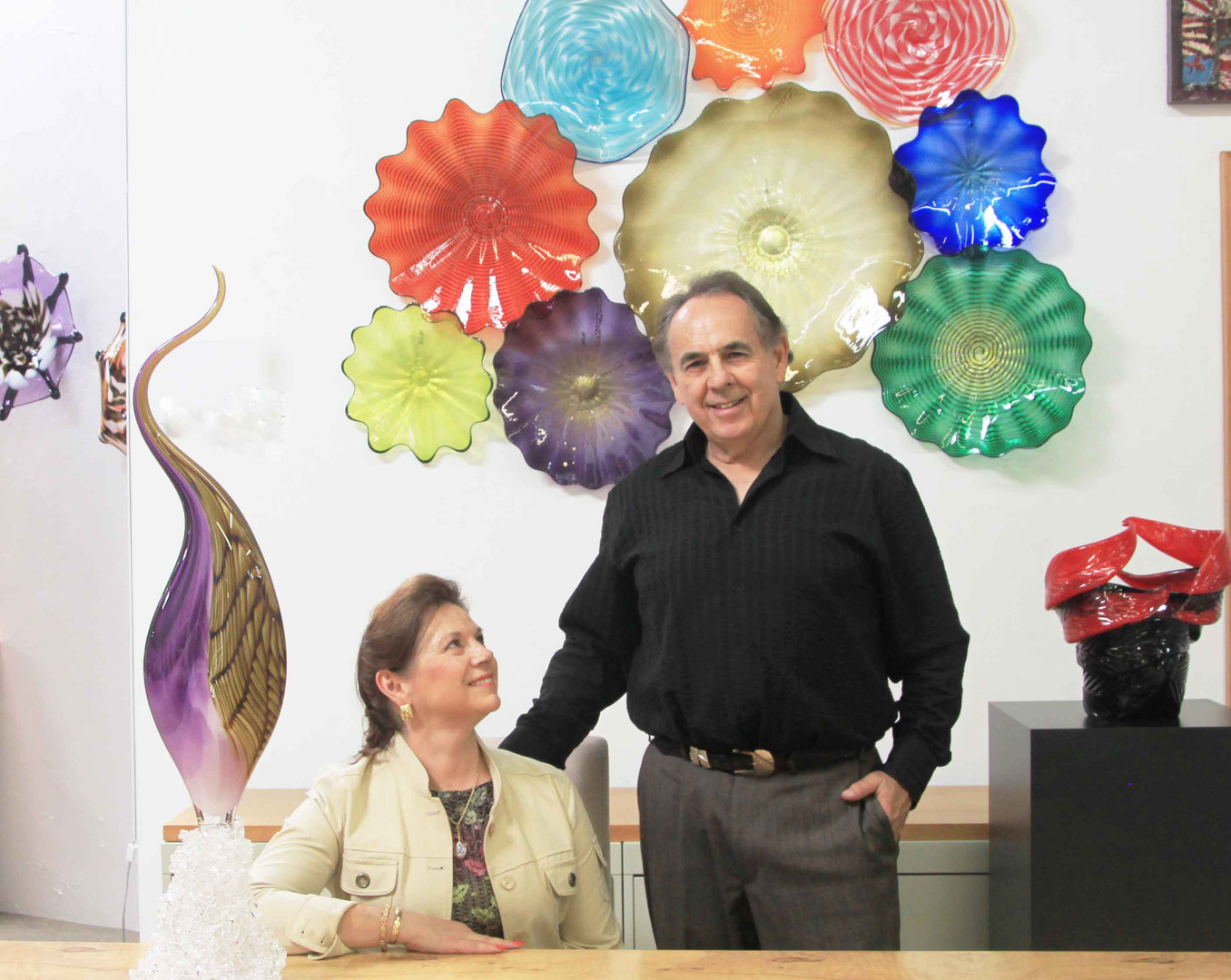 Dragon Street Glass Gallery with Ardell