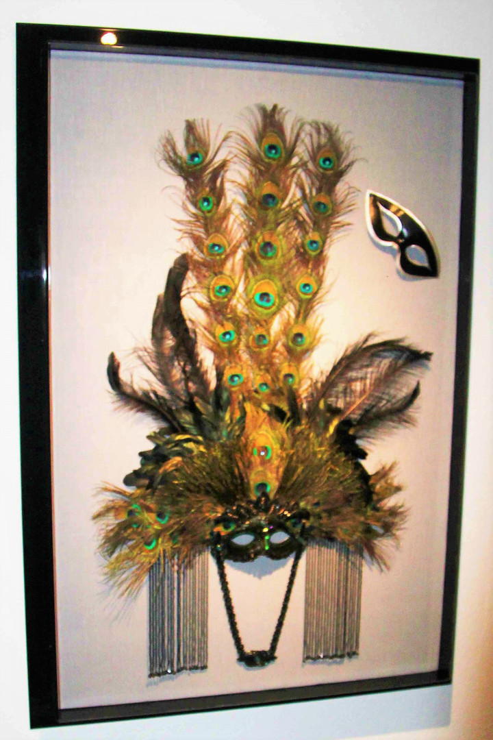D. Zueger design for Marti Gras Mask usi