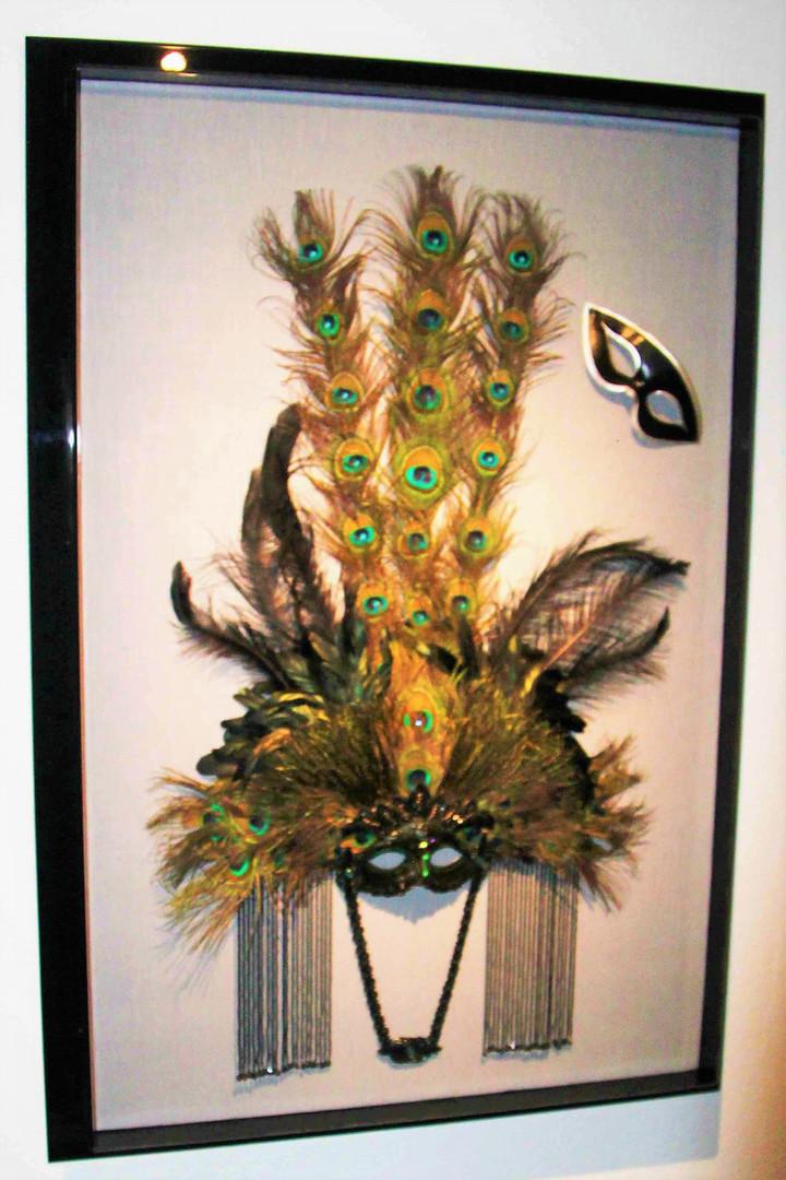 D. Zueger design for Marti Gras Mask usi