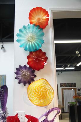 Wall Glass Plates