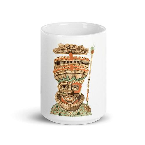 Aganyu Mug (Pyrography Orisha Series)