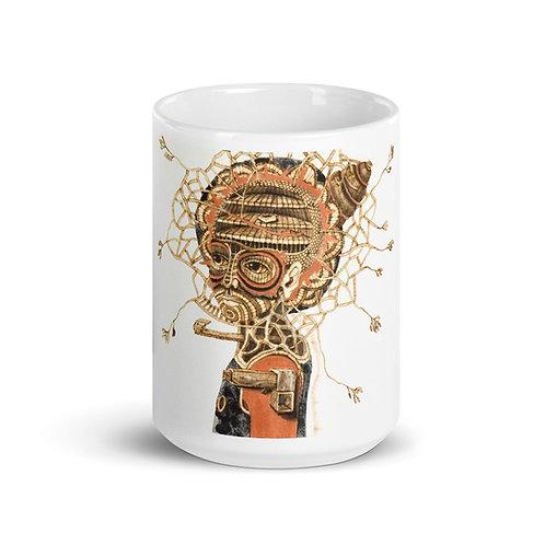 Elegba Mug (Pyrography Orisha Series)
