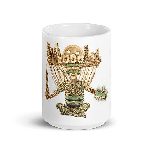 Oggun Mug (Pyrography Orisha Series)
