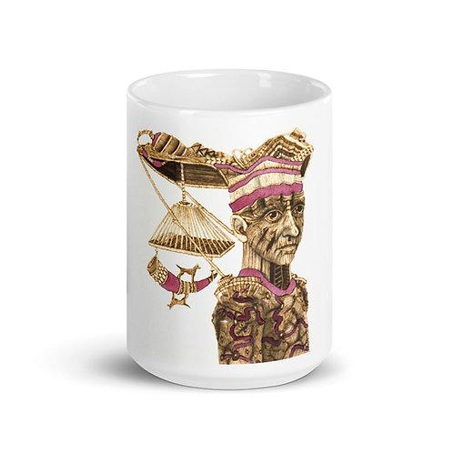 Babaluaye Mug (Pyrography Orisha Series)