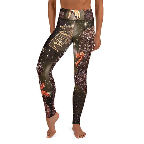 The Quieter You Become Yoga Pants
