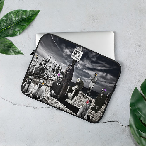 Racially Charged Laptop Sleeve