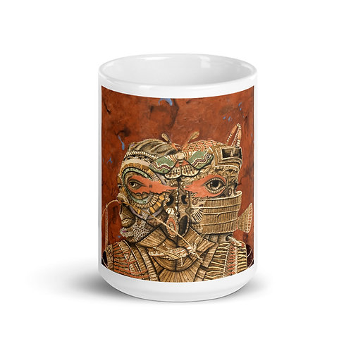 Pyrography Mug (Pyrography Orisha Series)