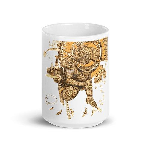 Ochun (Ibukole) Mug (Pyrography Orisha Series)
