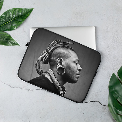 Dj Faces Laptop Sleeve