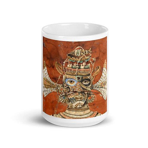 Pyrography Eggun Mug (Pyrography Orisha Series)