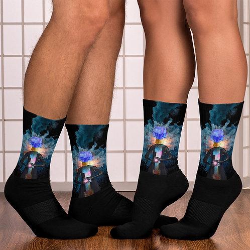 Space Noise Socks