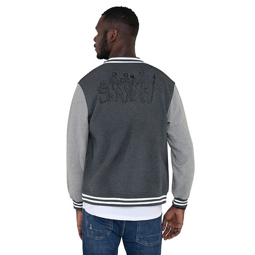 Yoruba Men's Letterman Jacket