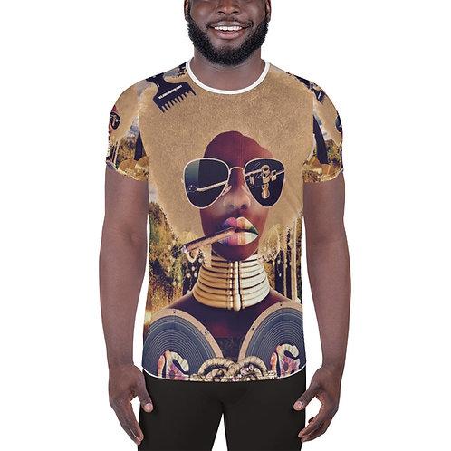 Ache' Men's Athletic T-shirt