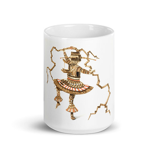 Chango Mug (Pyrography Orisha Series)