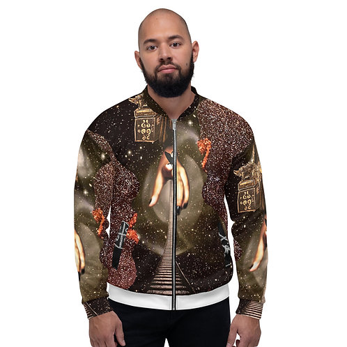 The Quieter You Become  Bomber Jacket
