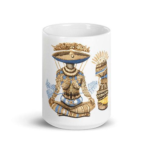 Yemeya (Achaba) Mug (Pyrography Orisha Series)
