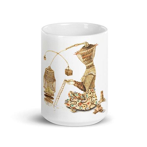 Iyansa Mug (Pyrography Orisha Series)