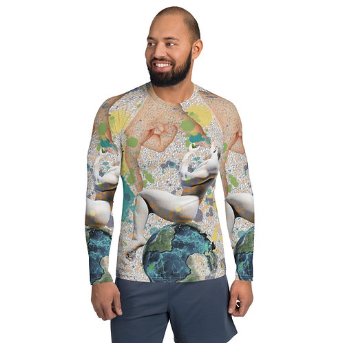 Axis (Osunlade Collage Inspired Men's Rash Guard)