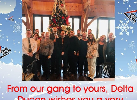 Happy Holidays from Delta Ducon!