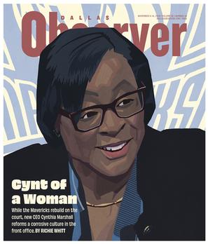 Portrait of Cynthia Marshall
