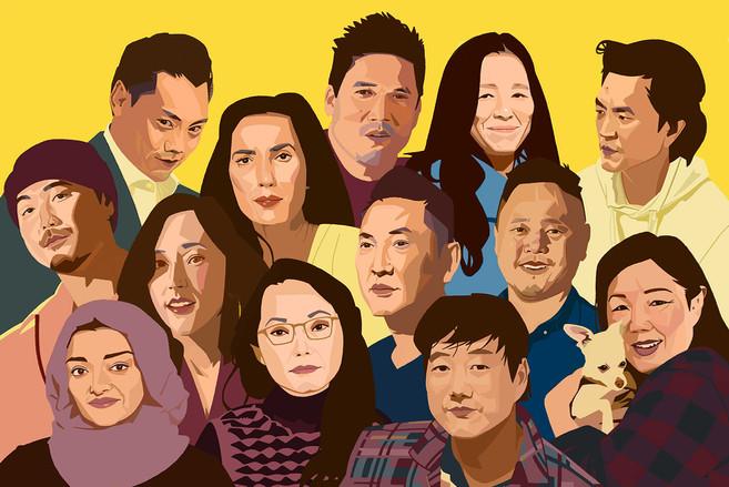 Asian Enough Portraits