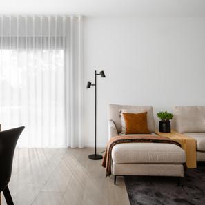 Harmonie tussen keuken en woonkamer
