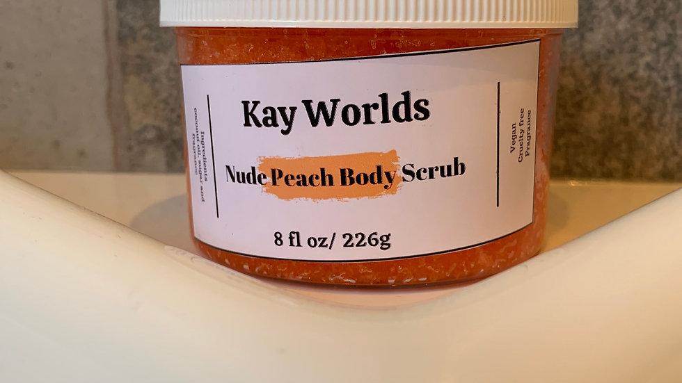 Nude Peach Body Scrub
