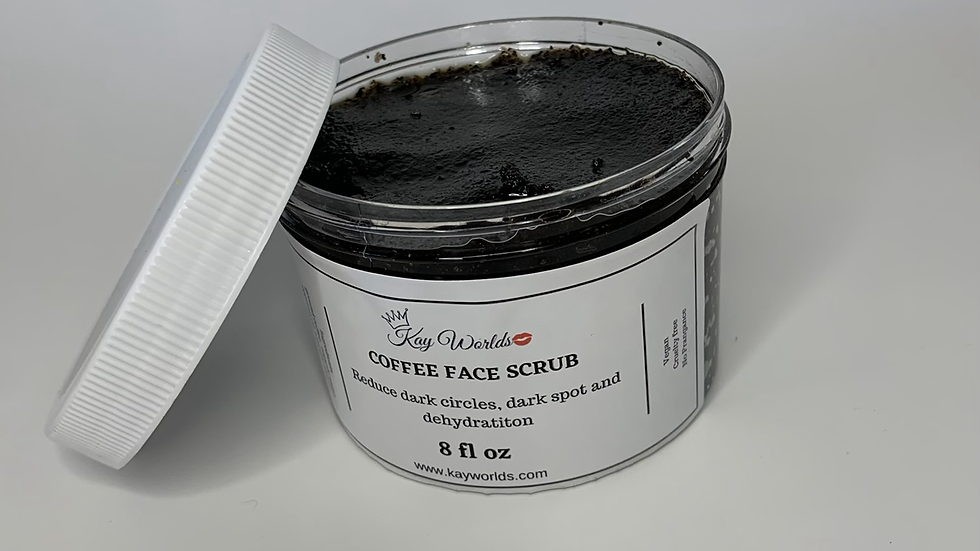Coffee Body & Face Scrub