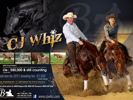Adverts for CJ Whiz are ready