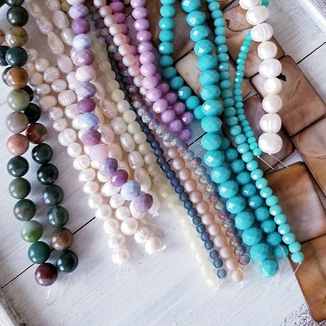My colour palette for 2019 jewelry_  #gl