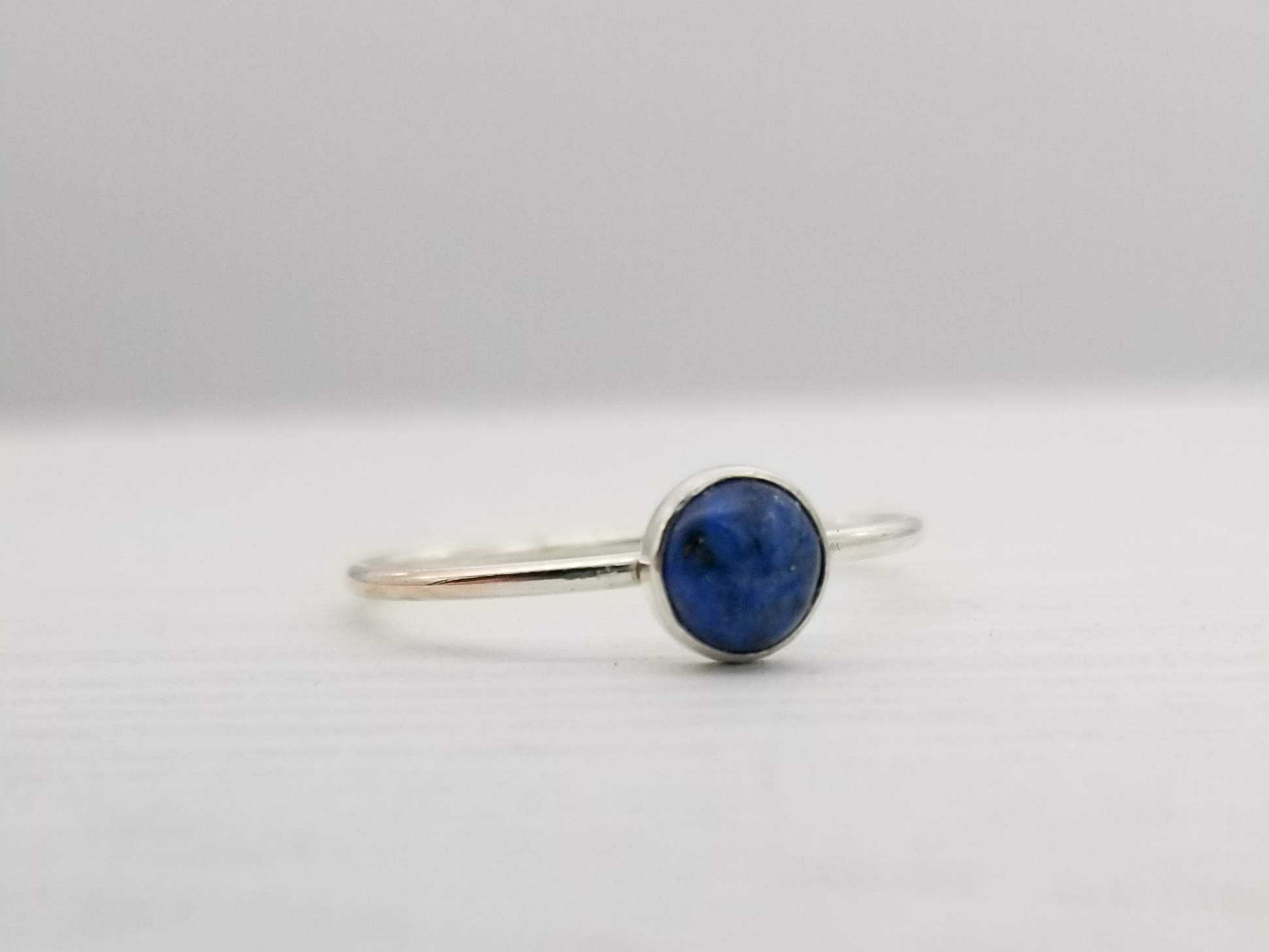 Denim Lapis Lazuli 5mm